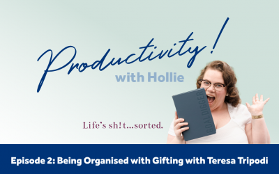 E2: Being Organised with Gifting with Teresa Tripodi from Sherbet Creations