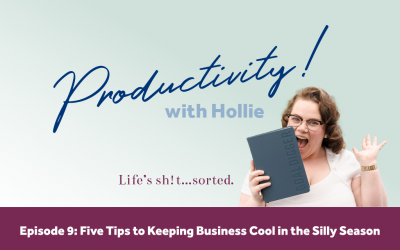 E9: Five Tips to Keeping Business Cool in the Silly Season